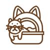 Toalety, WC pro kočky