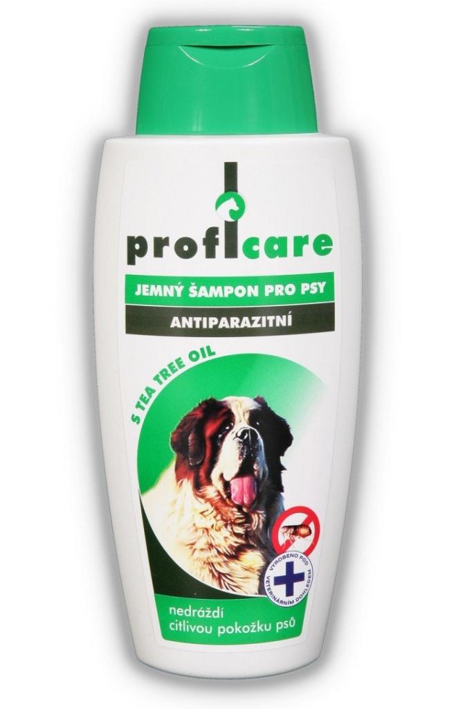 Antiparazitické pudry, šampóny