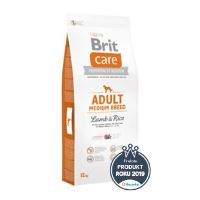 Brit Care Dog Adult Medium Breed Lamb & Rice 12kg + 2 KG ZDARMA - VŠE ZA SUPER CENU 973 Kč