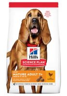 Hills Science Plan Canine Mature Adult 7+ Light Medium Chicken 14kg + HILLS VRHAČ MÍČKŮ ZDARMA  1378 Kč