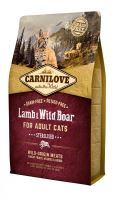 Brit Carnilove Cat Lamb & Wild Boar Adult Sterilised 6kg