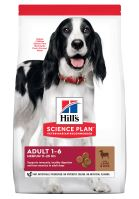 Hills Science Plan Canine Adult Advanced Fitness Medium Lamb&Rice 18kg + HILLS VRHAČ MÍČKŮ ZDARMA  1515 Kč