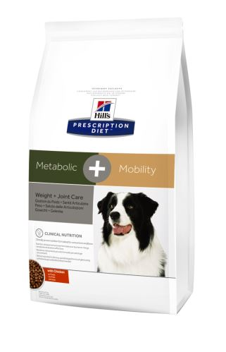 Hills Prescription Diet Canine Metabolic + Mobility 4kg