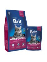 BRIT Premium Cat Adult Chicken 1,5kg