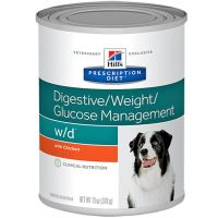 Hills Prescription Diet Canine W/D konzerva 370g