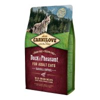 Brit Carnilove Cat Duck&Pheasant Adult Hairball Contr 6kg