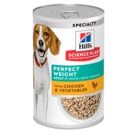 Hills Science Plan Canine Adult Perfect Weight 363g