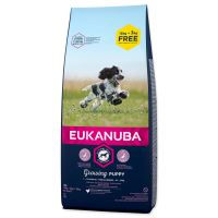 EUKANUBA Puppy & Junior Medium Breed - BONUS 18kg