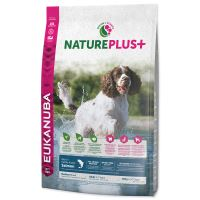 EUKANUBA Nature Plus+ Adult Medium Breed Rich in freshly frozen Salmon 10kg
