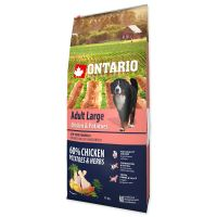 ONTARIO Dog Adult Large Chicken & Potatoes & Herbs 12kg PO REGISTRACI JEN 909 Kč