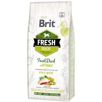 BRIT Fresh Duck with Millet Active Run & Work 12kg