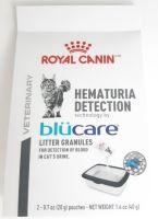 Podestýlka Royal Canin Hematuria Detection Blucare 40g