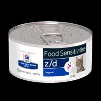Hills Z/D kočka s AB+ konzerva 156g