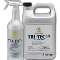 Farnam TRI-Tec 14 fly repellent spray 3,78l, na pastviny