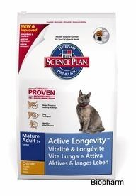 Hills Feline Mature Adult 7+ Active Longevity Chicken 5kg