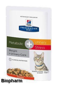 Hills Prescription Diet Feline C/D Urinary Stress + Metabolic stew 85g