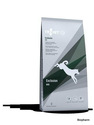 Trovet Exclusion / NVD 12,5kg pes (Natural Vegetarian Diet )