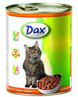 DAX kousky CAT 830g DRŮBEŽÍ