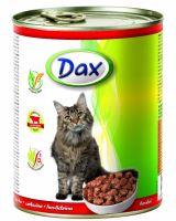 DAX kousky CAT 830g HOVĚZÍ