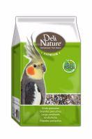 Deli Nature Premium PARAKEETS 1kg- Papoušek VÝPRODEJ ZA 36 Kč