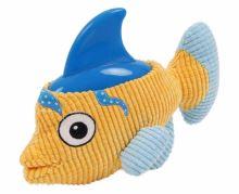 Plyšová hračka s termoplastickou gumou-Ryba 27x21cm