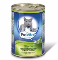 PreVital kousky kočka kuřecí sterile 415g