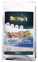IRONpet TURKEY Medium Adult 12kg  PO REGISTRACI JEN 766 KČ