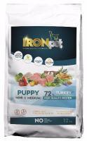 IRONpet TURKEY Puppy Mini & Medium 12kg  PO REGISTRACI JEN 836 KČ