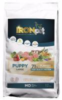 IRONpet TURKEY Puppy Large 12kg  PO REGISTRACI JEN 819 KČ