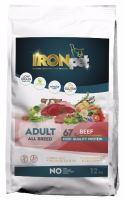 IRONpet BEEF Adult All Breed 12kg  PO REGISTRACI JEN 792 KČ