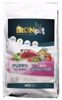 IRONpet BEEF Puppy All Breed 12kg  PO REGISTRACI JEN 845 KČ