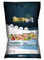 IRONpet TURKEY Puppy Mini & Medium 1,5kg