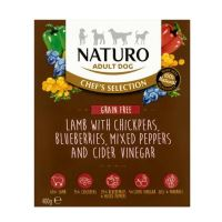 Naturo Chefs Sel.Adult Grain Free Lamb&Chickpeas 400g