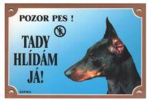 cedulka Dafiko - DOBRMAN